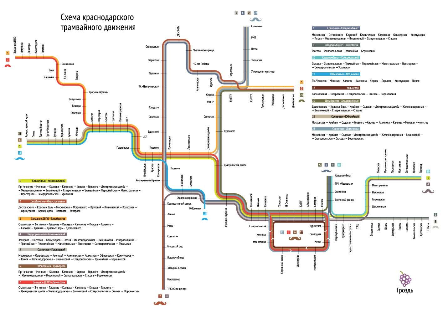 комнату схема движения трамвая в краснодаре обещал